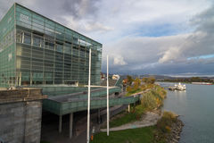 Ars Electronica Center in Linz, Austria Stock Photography