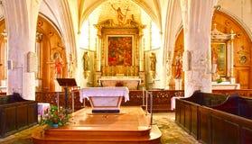 ARS EN σχετικά με, Γαλλία - 26 Σεπτεμβρίου 2016: γραφικός Άγιος Etienn Στοκ εικόνες με δικαίωμα ελεύθερης χρήσης