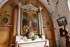 ARS EN σχετικά με, Γαλλία - 26 Σεπτεμβρίου 2016: γραφικός Άγιος Etienn Στοκ Φωτογραφία