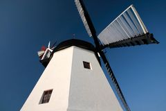 Arsdale Molle, windmill on Bornholm Royalty Free Stock Photo