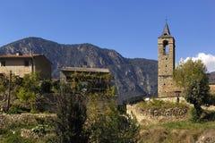 Arseguel, Arseguell, ALT Urgell, βουνά των Πυρηναίων, Lleida, Ισπανία Στοκ φωτογραφία με δικαίωμα ελεύθερης χρήσης