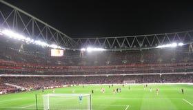 Arsenal-Alimente la ciudad foto de archivo