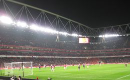Arsenal-Boltoon Foto de Stock