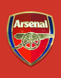 Arsenal Club Emblem Stock Images