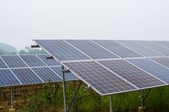 Arsenal de célula fotovoltaica fotos de archivo libres de regalías
