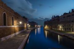 Arsenal de Venecia imagenes de archivo