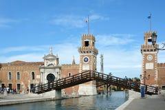 Arsenal de Venecia - Italia fotos de archivo libres de regalías