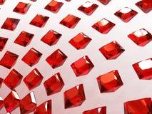 Arsenal del fondo de granates cuadrados Imagen de archivo libre de regalías