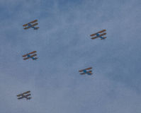 Arsenal of Democracy--Biplanes Stock Photography