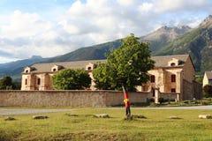 Arsenal do forte do Mont-Dauphin, Hautes-Alpes, França imagens de stock royalty free
