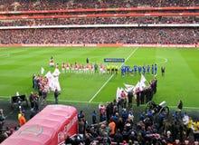 Arsenal-Emirat-Stadion stockbilder
