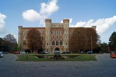 Arsenal  famous fortress in Vienna Royalty Free Stock Image