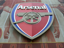 Arsenal FC Crest  Royalty Free Stock Photography