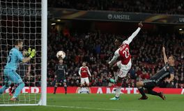 Arsenal FC v CSKA Moskva - UEFA Europa League Quarter Final Leg One Stock Image