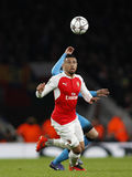 Arsenal FC v FC Barcelona - UEFA Champions League Round of 16: First Leg Stock Image