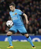 Arsenal FC v FC Barcelona - UEFA Champions League Round of 16: First Leg Stock Images