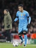 Arsenal FC v FC Barcelona - UEFA Champions League Round of 16: First Leg Stock Photos