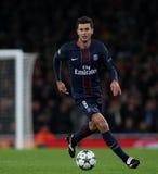 Arsenal FC V Paris St Germain - liga för UEFA-mästare Fotografering för Bildbyråer