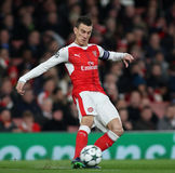 Arsenal FC v Paris St Germain - ligue de champions d'UEFA Photos libres de droits