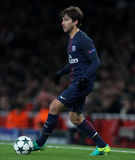 Arsenal FC v Paris St Germain - ligue de champions d'UEFA Photographie stock libre de droits