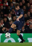 Arsenal FC v Paris St Germain - ligue de champions d'UEFA Photos stock