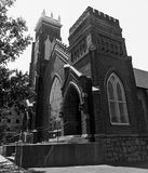 Arsenal Hill Associate Reformed Presbyterian Church located in Columbia, SC.  royalty free stock image