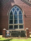 Arsenal Hill Associate Reformed Presbyterian Church located in Columbia, SC.  stock images