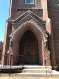 Arsenal Hill Associate Reformed Presbyterian Church located in Columbia, SC.  stock photo