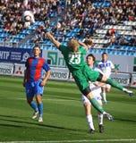 Arsenal Kyiv's goalkeeper Sergiy Pohorilyi Stock Image