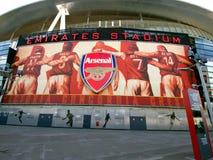 Arsenal-Legenden - Sieg kommt von der Harmonie Lizenzfreies Stockfoto