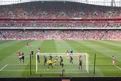 Arsenal-Manchester City Royalty Free Stock Photography