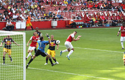 Free Arsenal Scores In Emirates Cup  11 Royalty Free Stock Photos - 20541788