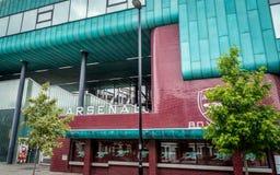 Arsenal stadium club box office, London royalty free stock photos