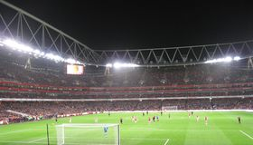 Arsenal-Stoke City Stock Photo