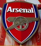 Arsenal-Symbol Lizenzfreie Stockbilder