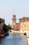 Arsenal or Torri della Arsenale, Venice Stock Photography