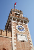 The Arsenal Tower, Venice, Italy Stock Photo