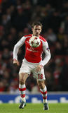 Arsenal v Anderlecht de ligue de champions d'UEFA Photo stock