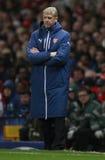Arsenal v Anderlecht de ligue de champions d'UEFA Images stock
