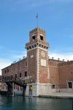 Arsenal of Venice - Italy. Royalty Free Stock Photography