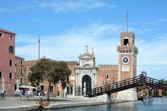 Arsenal of Venice - Italy. Royalty Free Stock Image