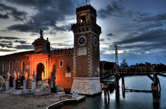 Arsenal of Venice royalty free stock images