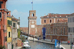 Arsenal of Venice - Italy. Stock Image