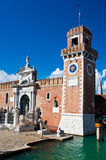 arsenale Βενετία στοκ εικόνες