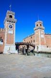 Arsenale, Βενετία Στοκ εικόνες με δικαίωμα ελεύθερης χρήσης