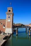 Arsenale, Βενετία Στοκ Φωτογραφίες