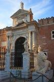 Arsenale, Βενετία Στοκ φωτογραφία με δικαίωμα ελεύθερης χρήσης