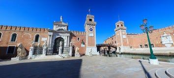 Arsenale, Βενετία Στοκ Εικόνες