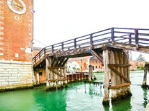 arsenale είσοδος Ιταλία Βενετία Ιταλία Βενετία Στοκ Φωτογραφίες