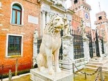 arsenale είσοδος Ιταλία Βενετία Ιταλία Βενετία Στοκ φωτογραφία με δικαίωμα ελεύθερης χρήσης